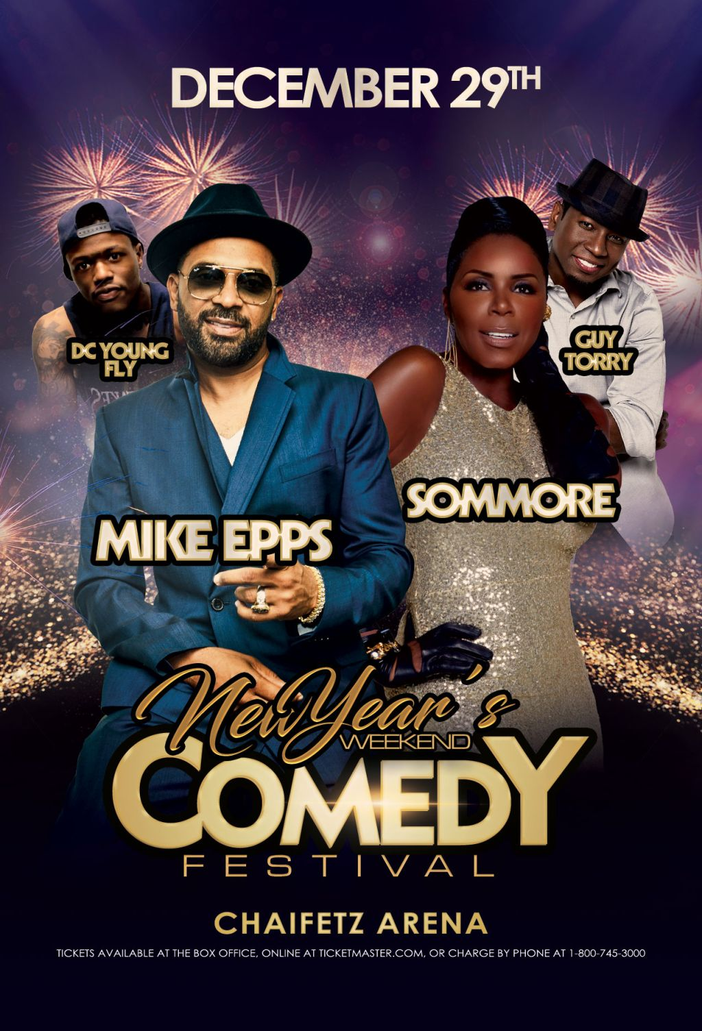 New Years Eve Comedy Show STL 2018