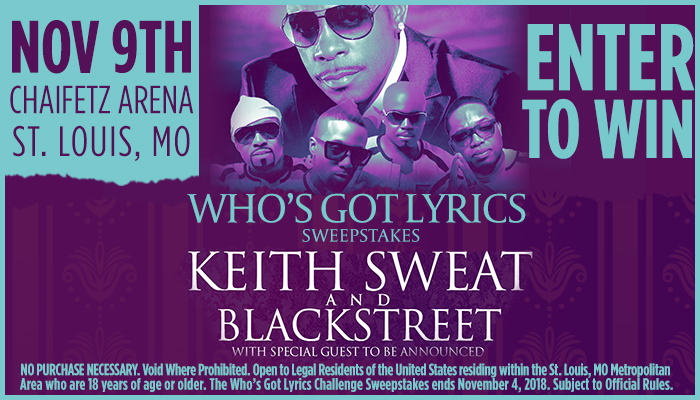 Keith Sweat and Blackstreet WFUN September 2018