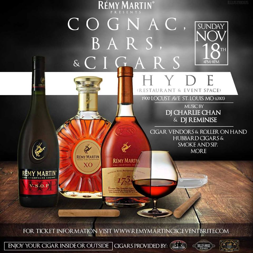 Cognac Bars and Cigars Event