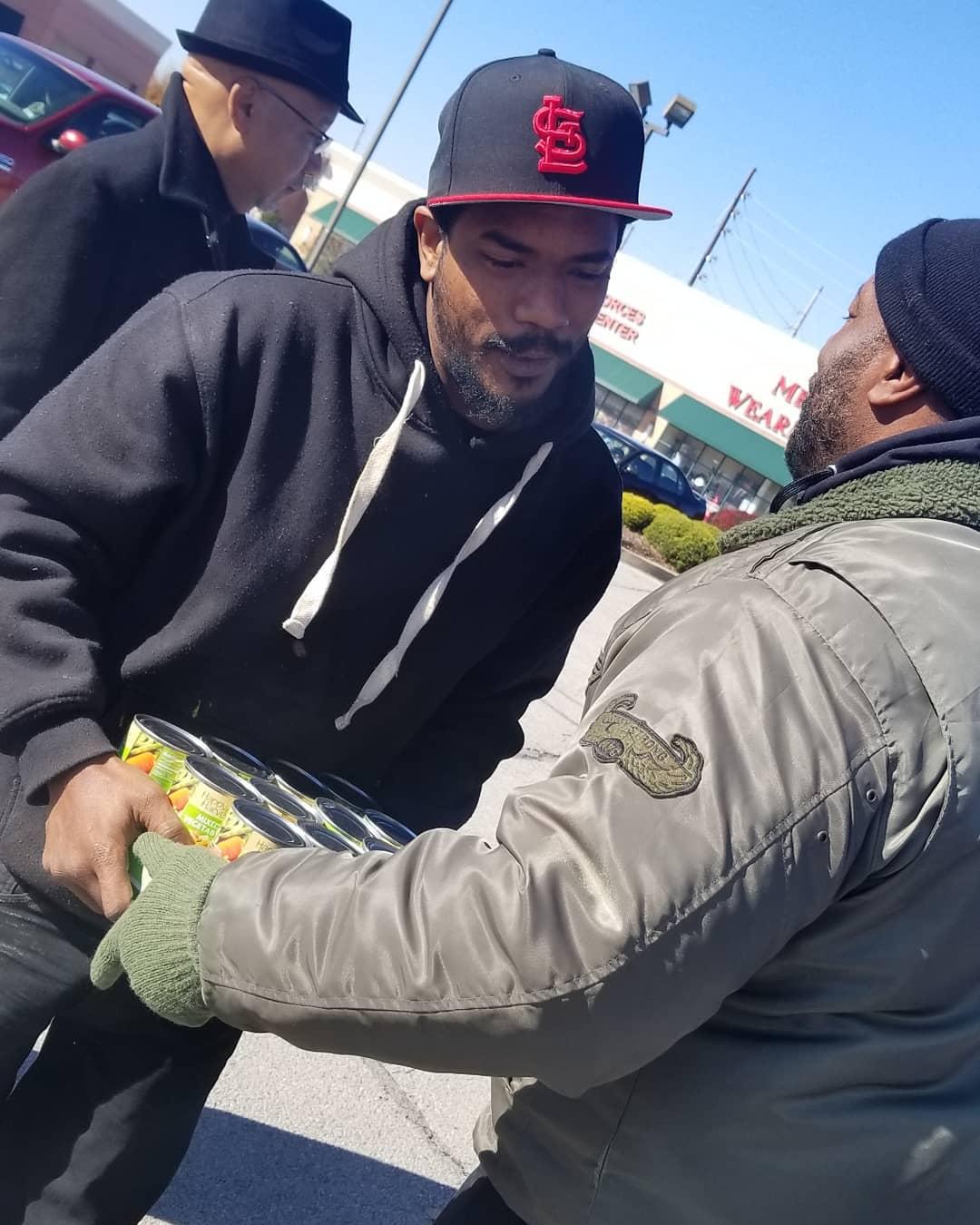 Demetrius Johnson Can Food Drive 2018 (PHOTOS)