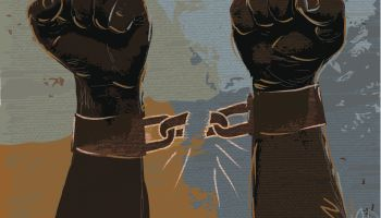 Freedom: breaking chains