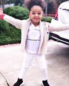 YG's Daughter Harmony Ava Lynn launched a kids clothing line @loveoutloud