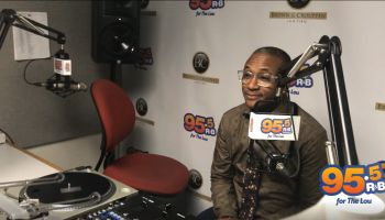 Tommy Davidson at 95.5 The Lou