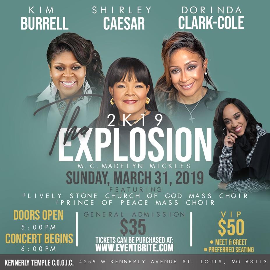 2K19 Gospel Explosion!