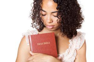 Religious girl