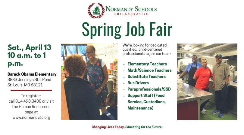 Normandy Spring Job Fair