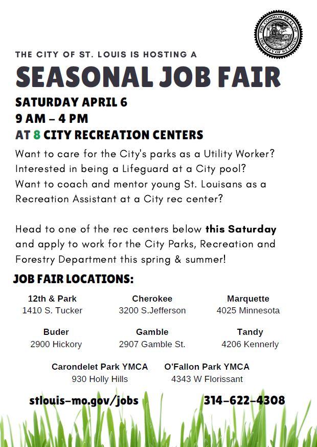 Seasonal Job Fair 2019