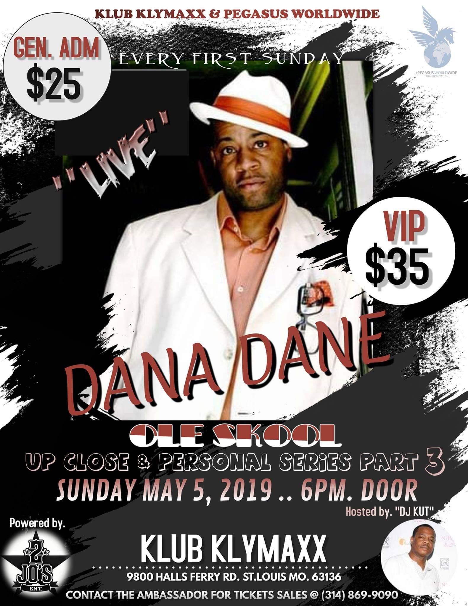 Dana Dane LIVE
