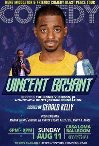 Stop the Violence Concert Vincent Bryant