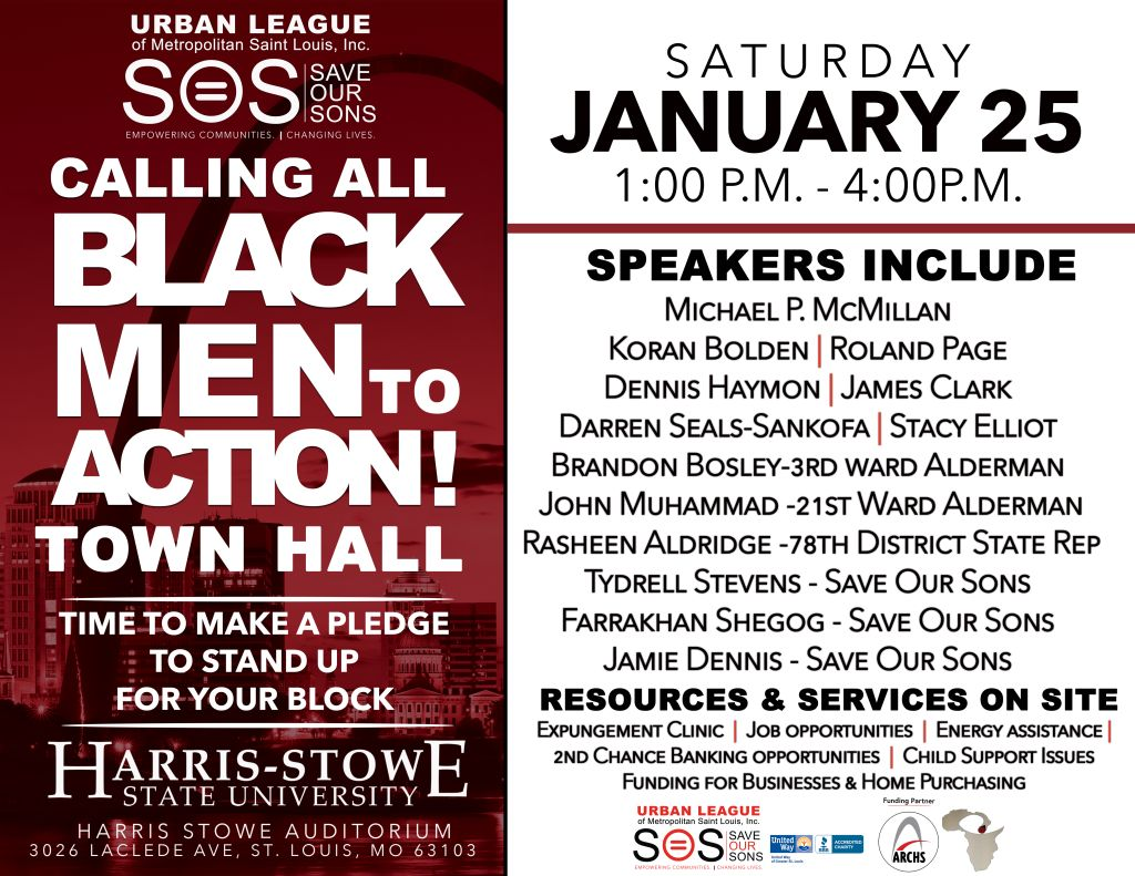 Urban League Calling All Black Men To Action Town Hall