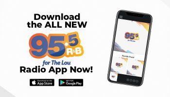 95.5 The Lou App https://bit.ly/955theLouapp